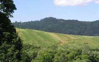 Pieniny po Słowackiej stronie.