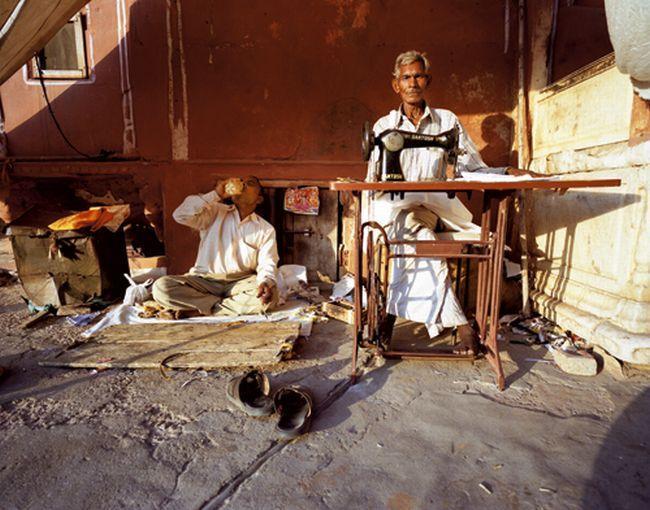 Małe osady w okolicach Jaisalmeru, niedaleko granicy z Pakistanem.