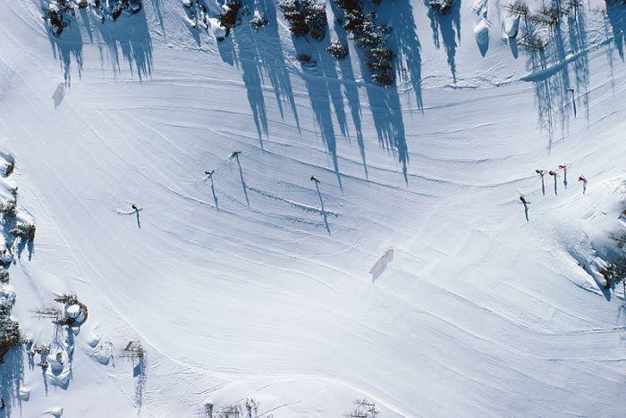 Dobrze przygotowane trasy narciarskie
