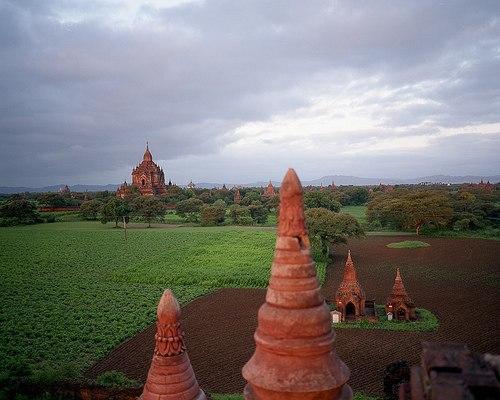 Świątynie starego miasta Bagan