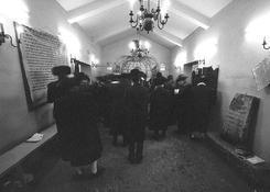 Tu jest grób słynnego rabina.