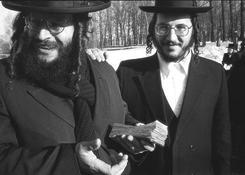 Chasydzi jawią się w Leżajsku jako zjawy nie z tego świata. Dziś nie mieszka tam żaden Żyd.