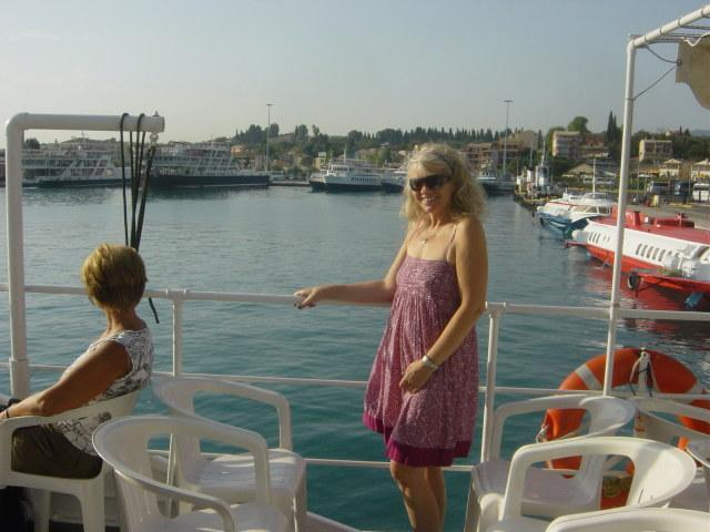 Wyruszam z Korfu do Albanii.