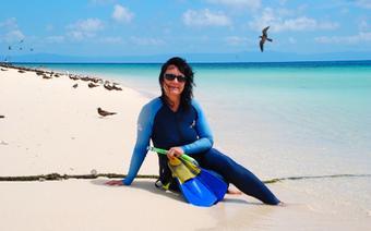 AUSTRALIA-Wielka Rafa Koralowa, Sama wśród ptaków