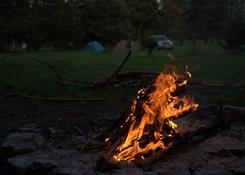 Wieczorem nie ma jak ognisko.