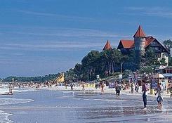 Plaża w Łebie.