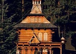 Kaplicę Najświętszego Serca pana Jezusa na Jaszczurówce (1908 r.) zaprojektował S. Witkiewicz.