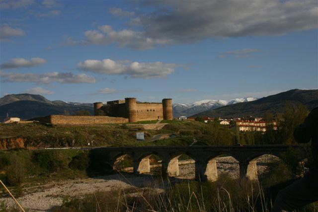 Góry widziane z Barca de Avilla
