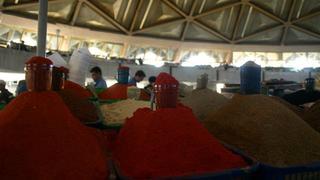 Na bazarze przyprawowym Chor- Su w Taszkencie