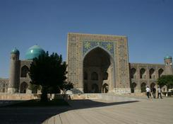Registan- medresa w Samarkandzie