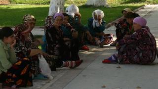 Uzbeczki wypoczywają