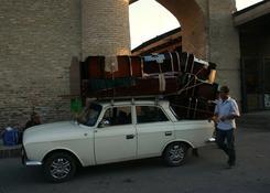 transport w Uzbekistanie