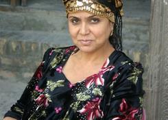 Uzbeczka w stroju codziennym