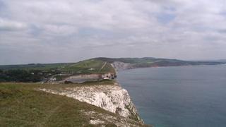 """Południowo-zachodnie wybrzeże Wight, czyli """"sinusoida"""" bez barierek."""