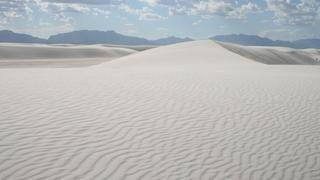 White Sands, New Mexico.