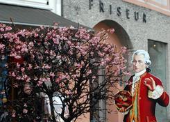Postać Mozarta dominuje w Salzburgu. Fot.: Jarosław Tondos/TravelFocus.pl