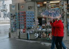 Salzburg dostarcza wielu atrakcji, nawet w złą pogodę. Fot.: Jarosław Tondos/TravelFocus.pl