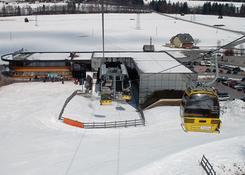 Widok na stację narciarską Hauser Kaibling. Fot.: Jarosław Tondos/TravelFocus.pl