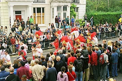Notting Hill Festiwal to największa uliczna parada w Europie. fot.: Jarosław Tondos/TravelFocus.pl