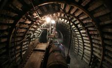 Poziom 320 to prawdziwa kopalnia !, którą poczujesz w nogach i zobaczysz w świetle lampy i unosząceg