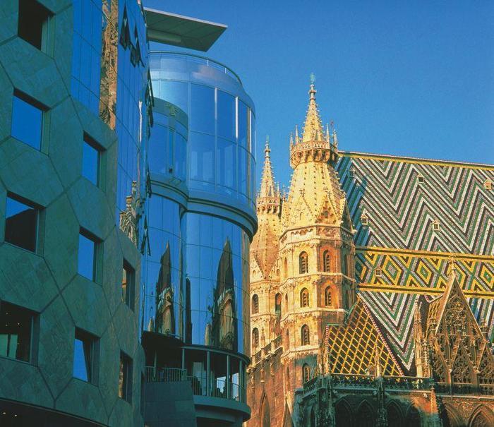 Wiedeń: zabytki i nowoczesność.