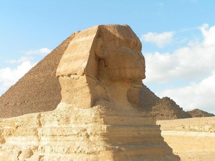sfinks, Giza