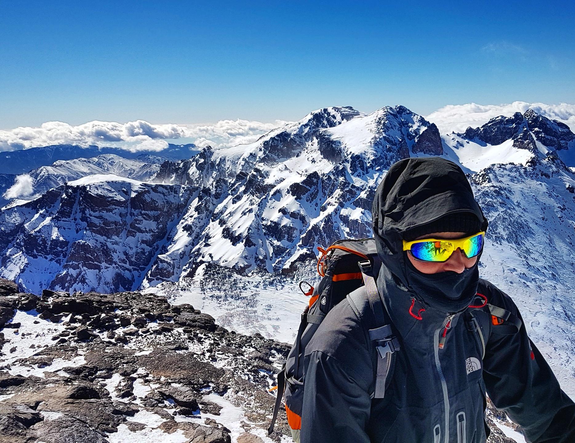 Atkas Wysoki - Afryka zima 2017; -30 stopni