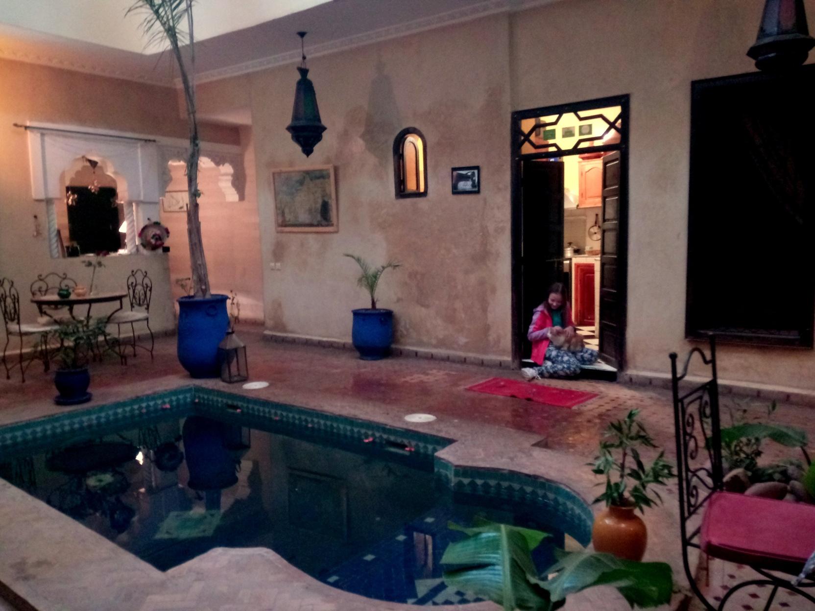 Marrakesz - Riad Suliman