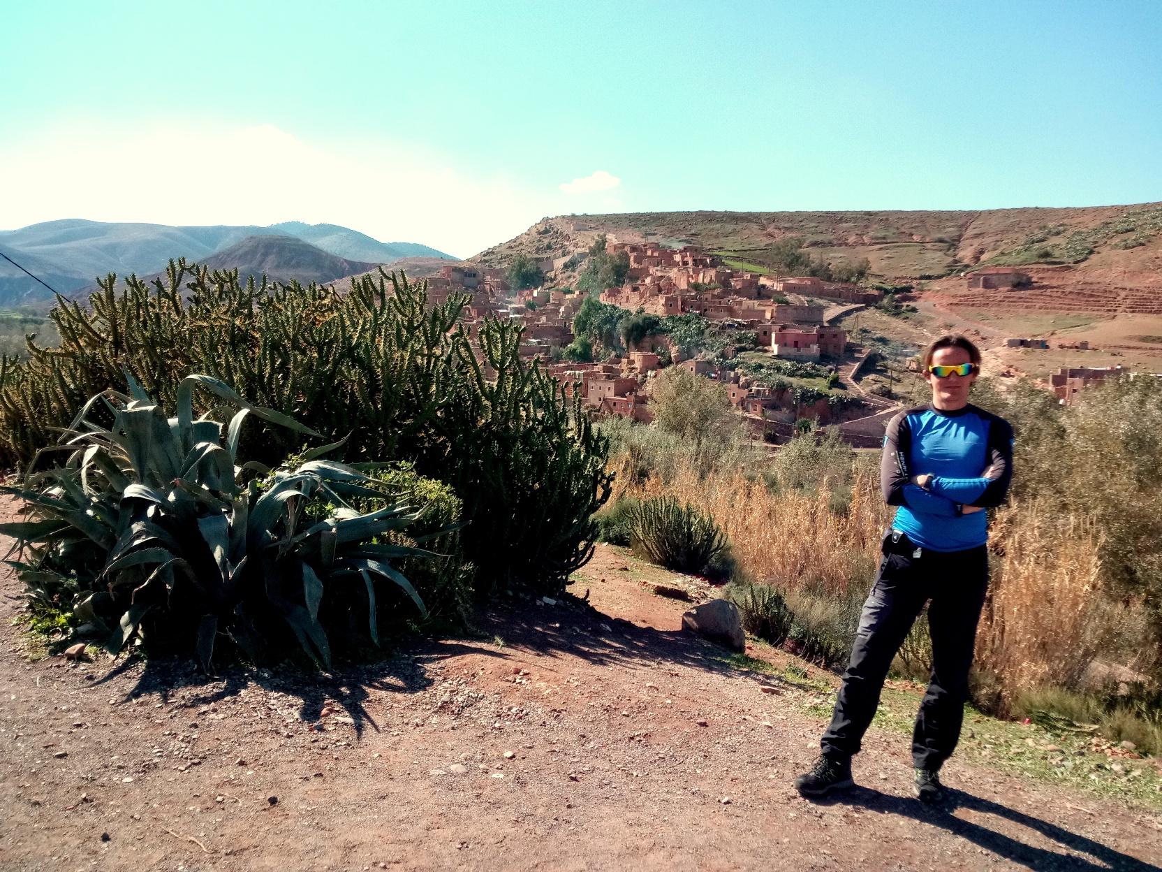 Zimowe wejście na Jabal Tubkal w Afryce - doga do bazy Imlil z Marrakeszu
