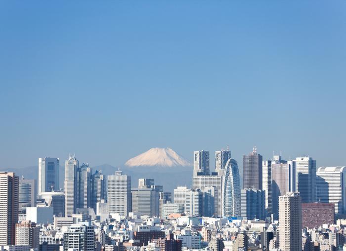 Fudżi nad Tokio