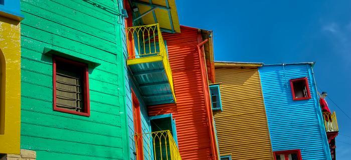kolorowa dzielnica La Boca