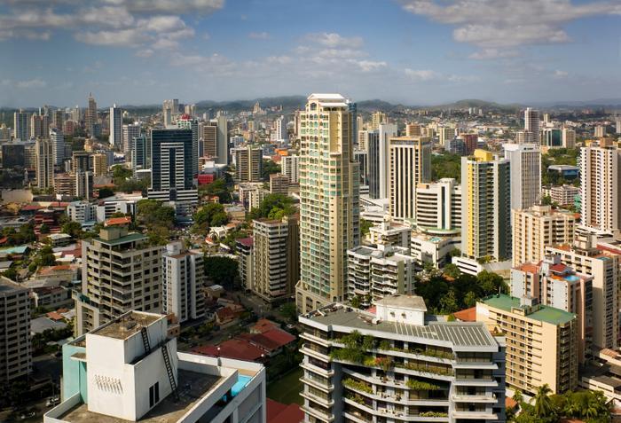 widok na Panama City