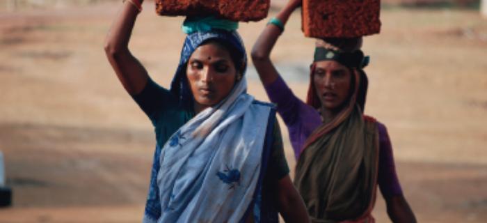 Hinduski w sari