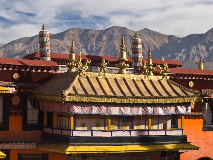 Świątynia Dżokhang. Lhasa