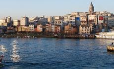 Widok na Istambuł