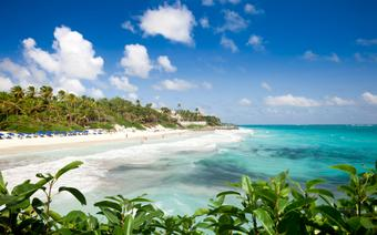 Crane Beach. Barbados.