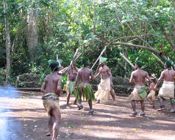 Tradycyjne tańce melanezyjskie