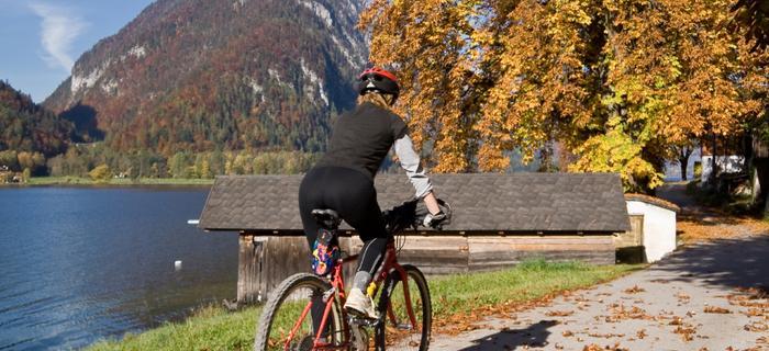 Rowerem wzdłuż jeziora Hallstatt
