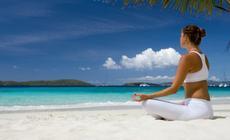 Ćwiczenia Jogi na Plaży