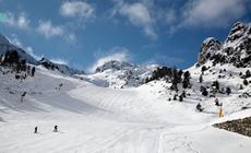 Trasa narciarska w Andorze