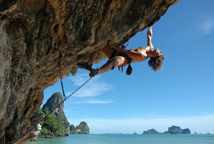 Klify na wyspie Krabi. Tajlandia