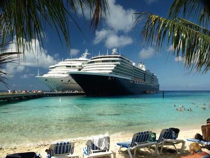 Statki wycieczkowe na wyspie Grand Turk