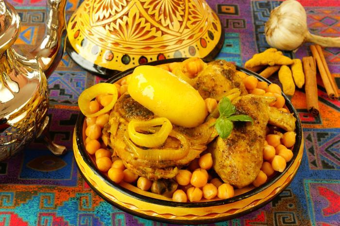 Kurczak po marokańsku