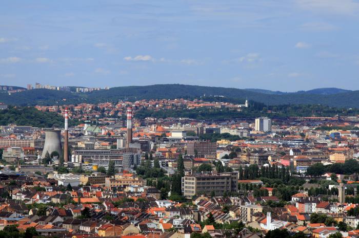 Brno jest drugim co do wielkości miastem Czech