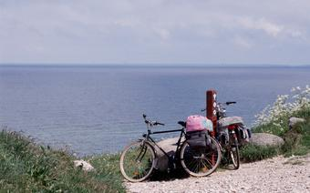 Rowery na plaży Balka