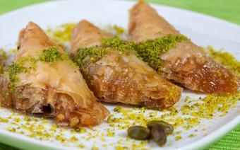 Baklava - turecki deser z syropem