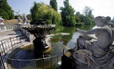 Fontanna w Hyde Parku