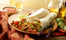 Burrito z kurczakiem
