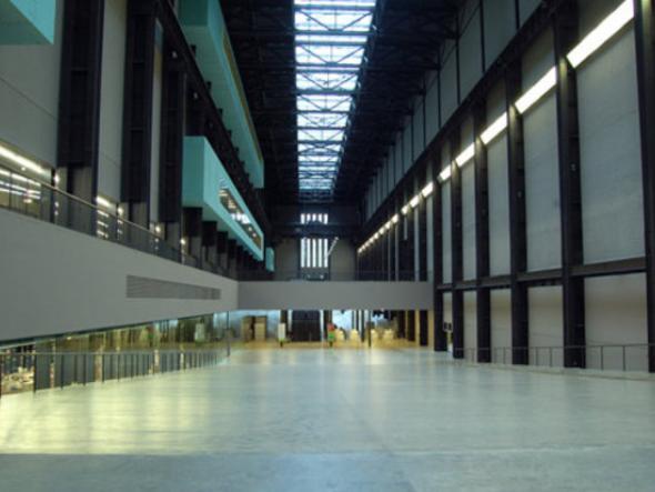 Tate Modern - wnętrze