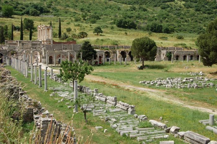 Starożytne miasto Efez